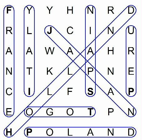 Printable Word Search