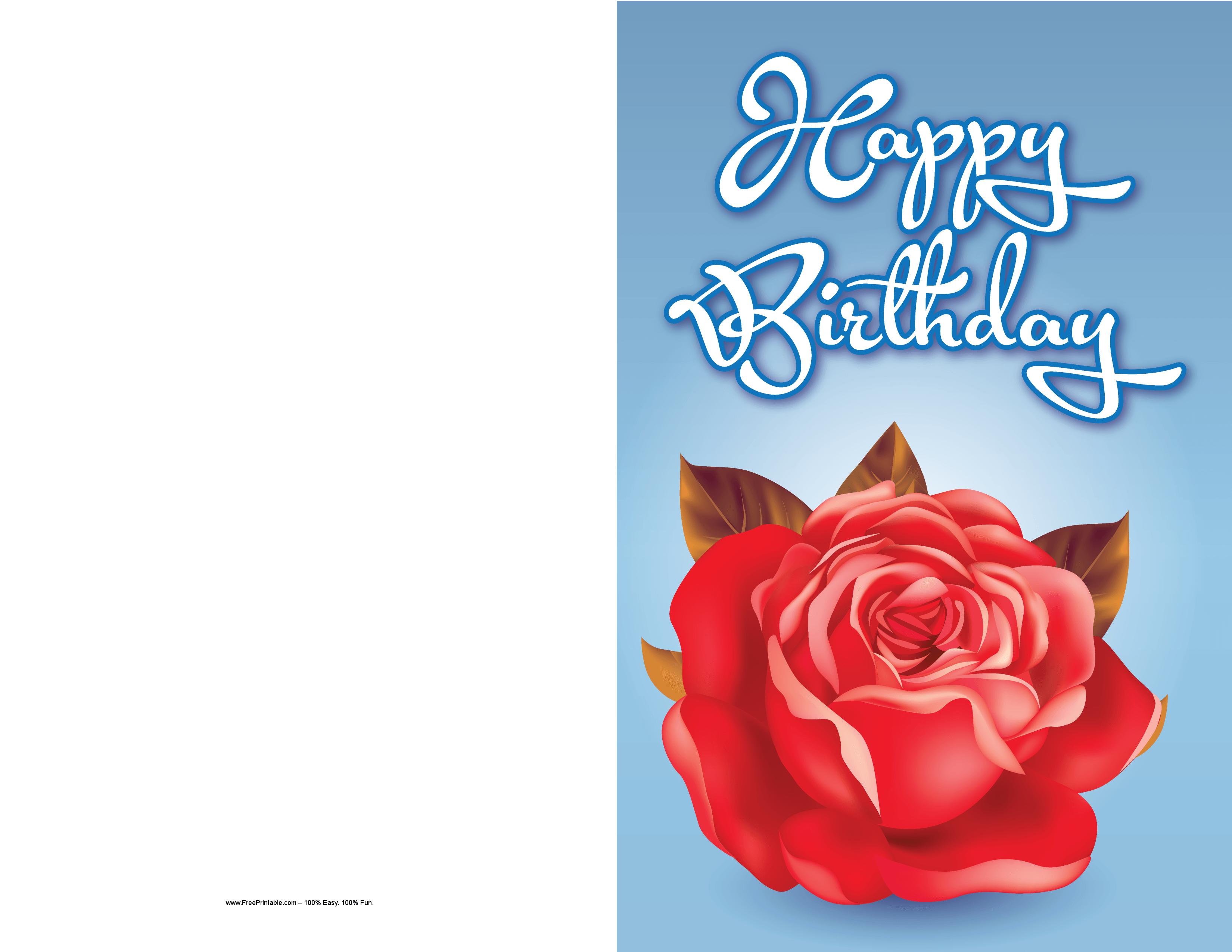 Rose Birthday