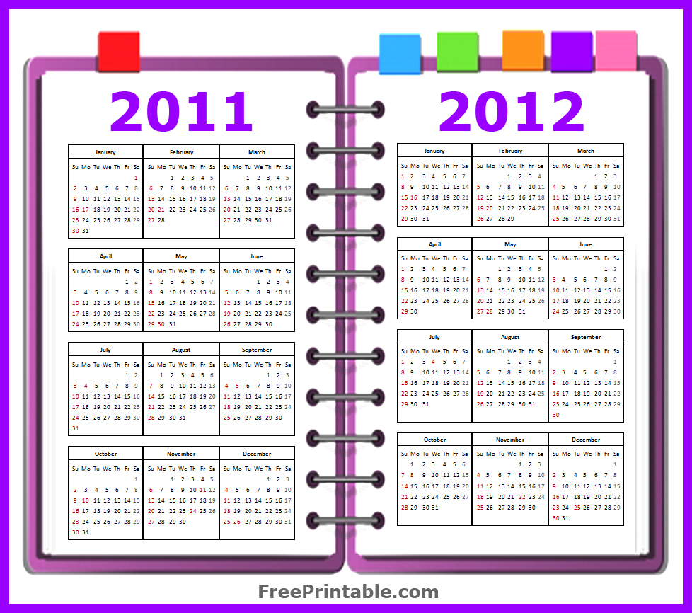 Free Printable Calendar 2011 2012 | Search Results | Calendar 2015