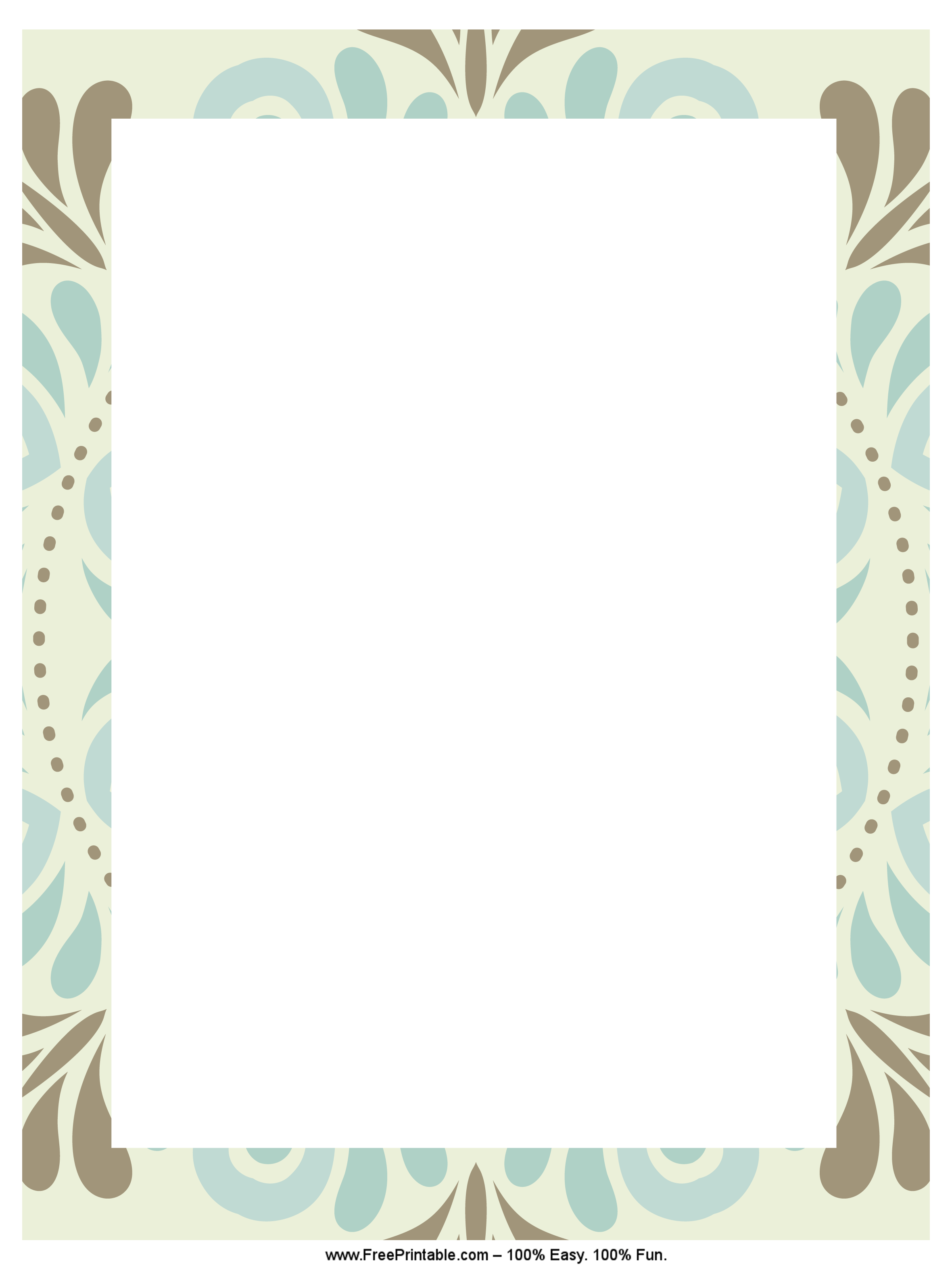 Winter Mandala Stationery