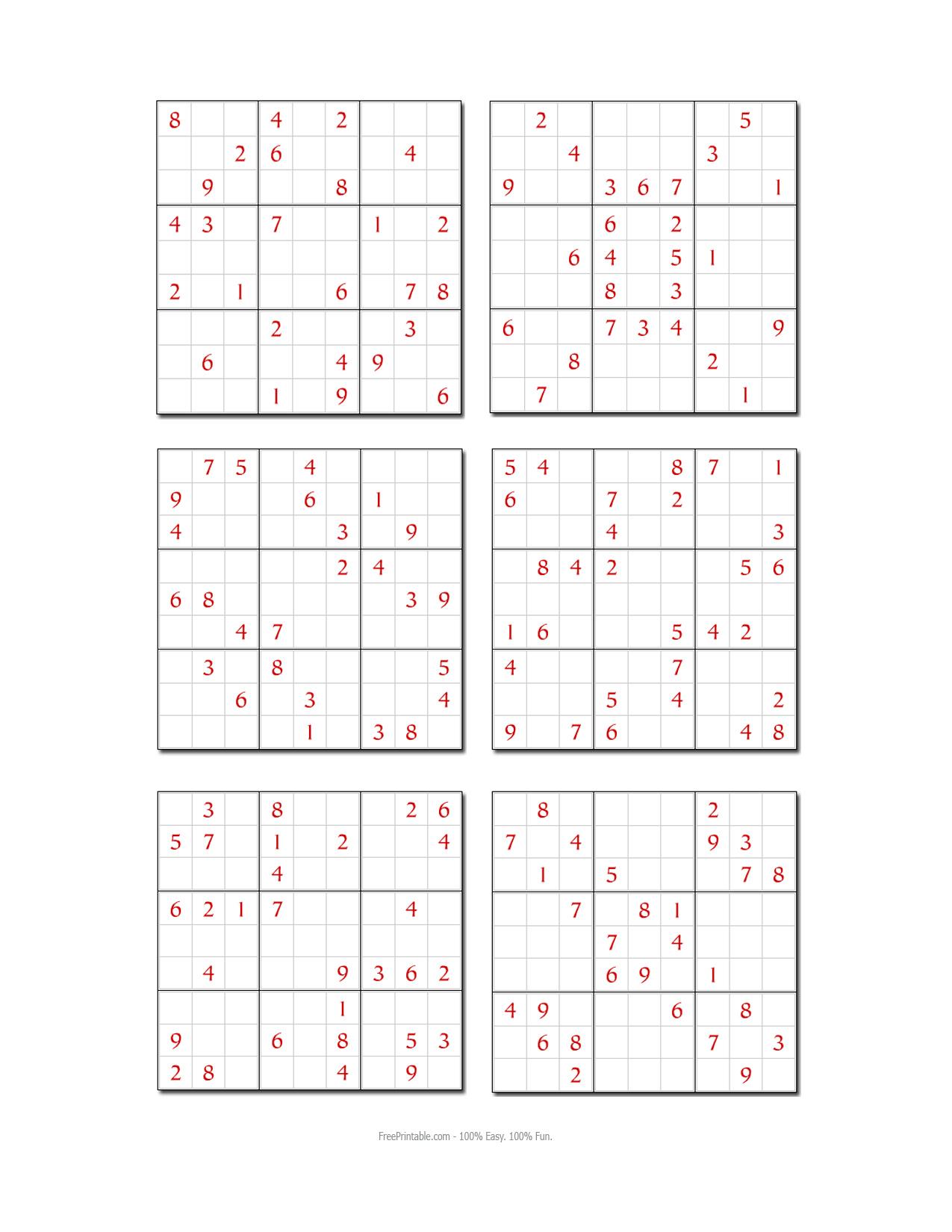Hard Sudoku Printable Printable Hard Sudoku Samurai