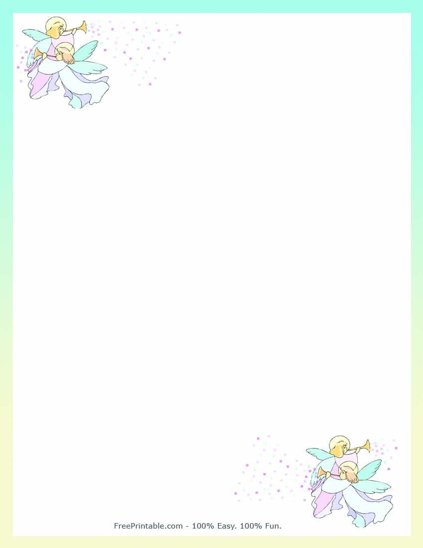 Alfa img - Showing > Free Printable Angel Borders