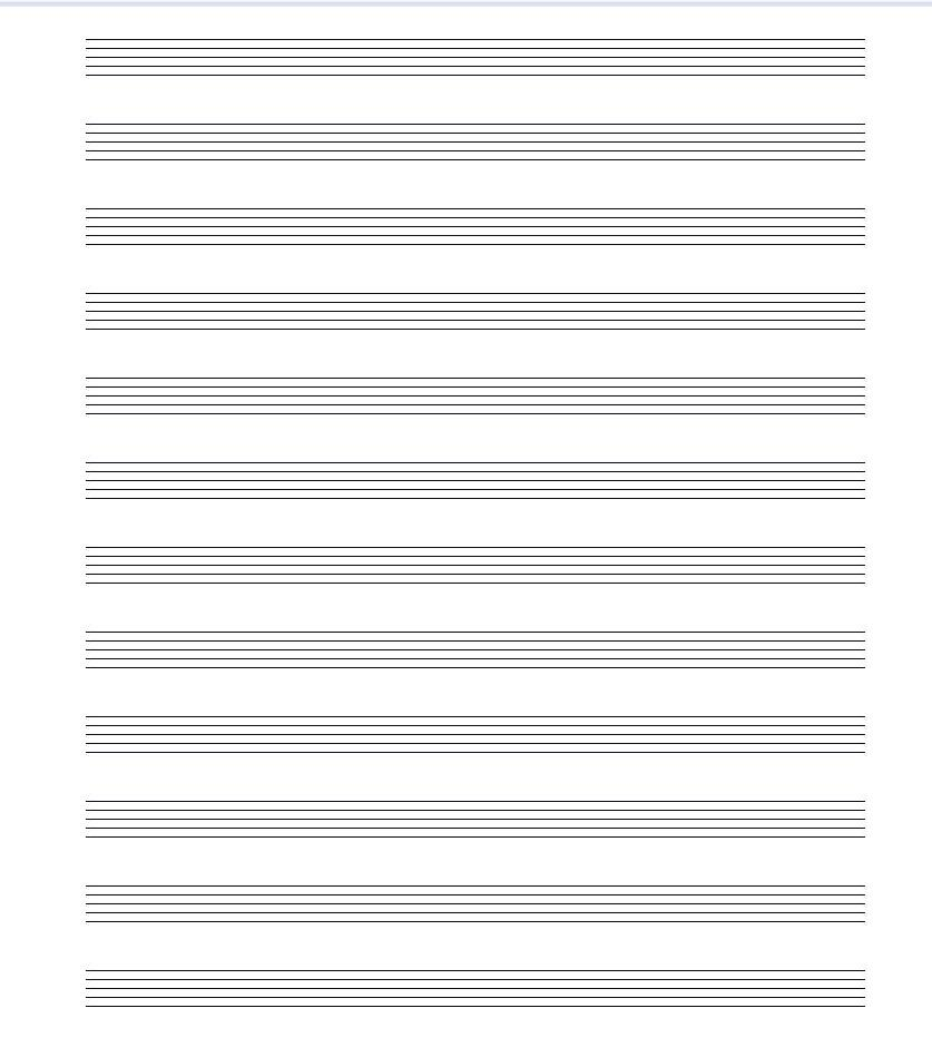 "... Results for ""Printable Blank Music Staff Paper"" – Calendar 2015"