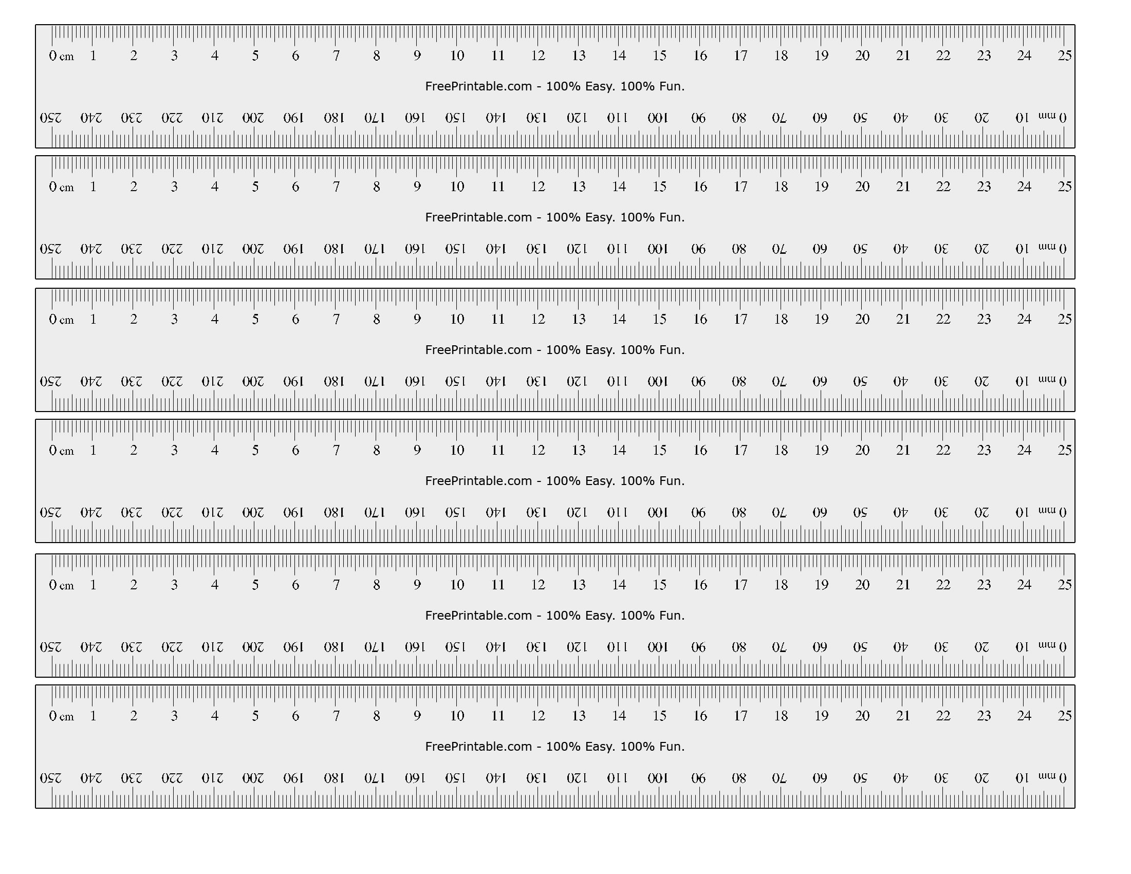 printable ruler actual size inches ruler actual size's user profile