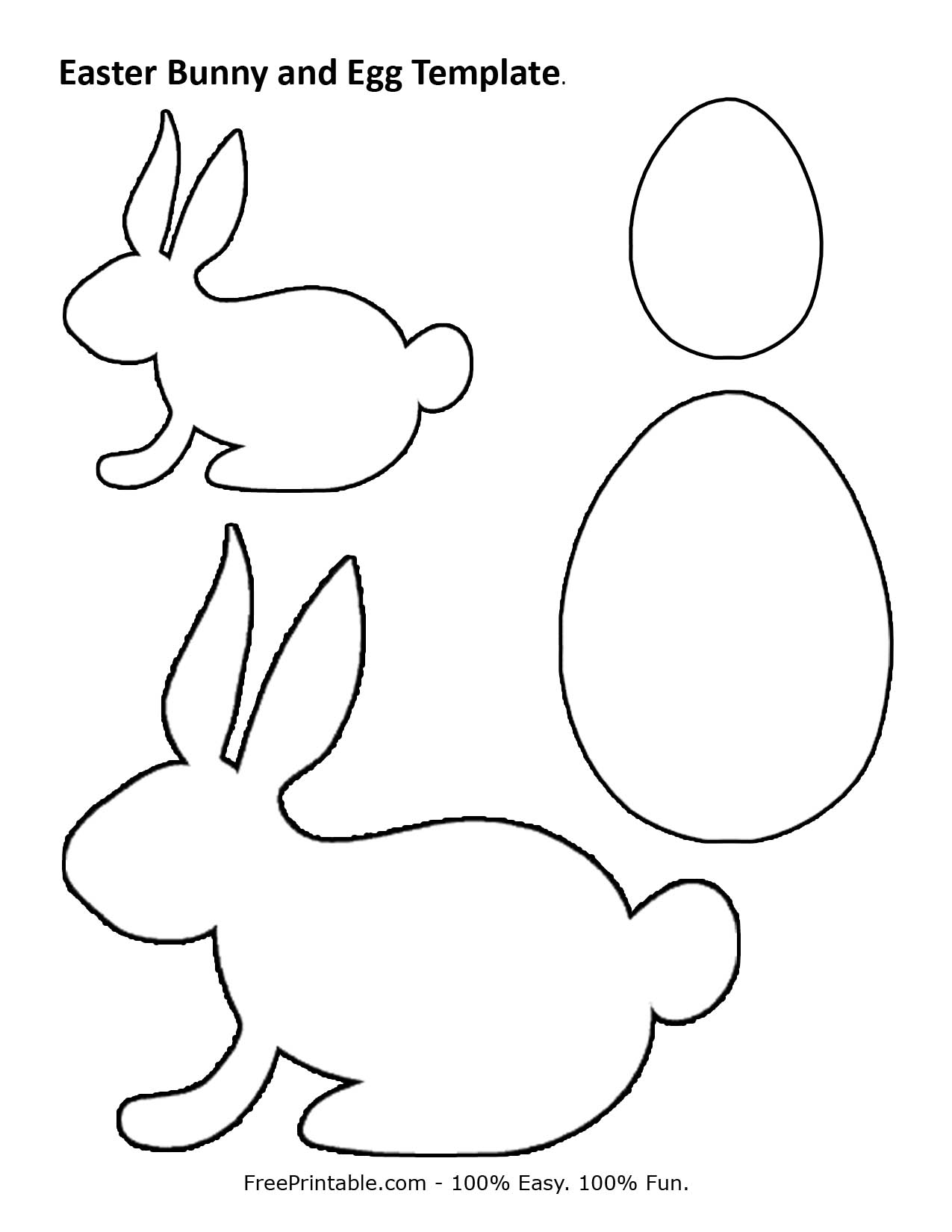 Easter-bunny-and-egg-template