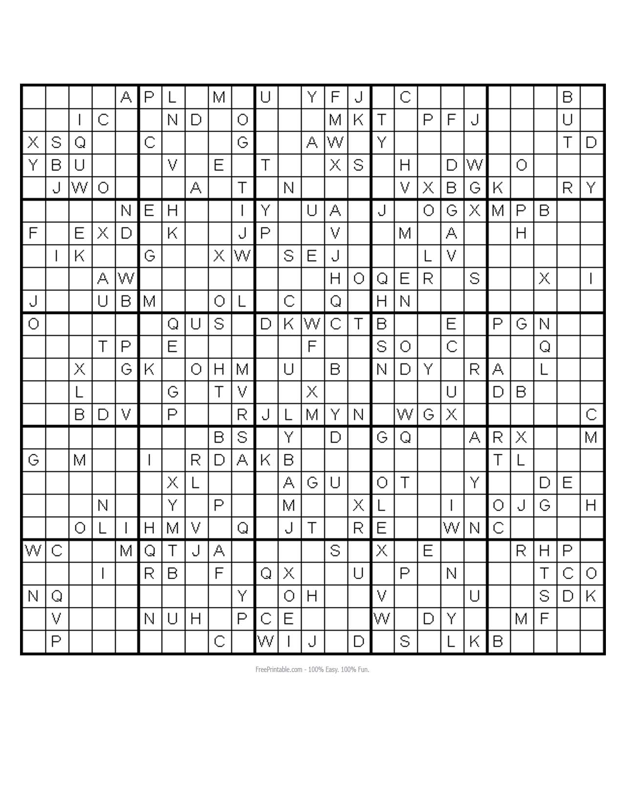 graphic about Monster Sudoku Printable named 84 No cost PRINTABLE MONSTER SUDOKU PUZZLES, PRINTABLE MONSTER