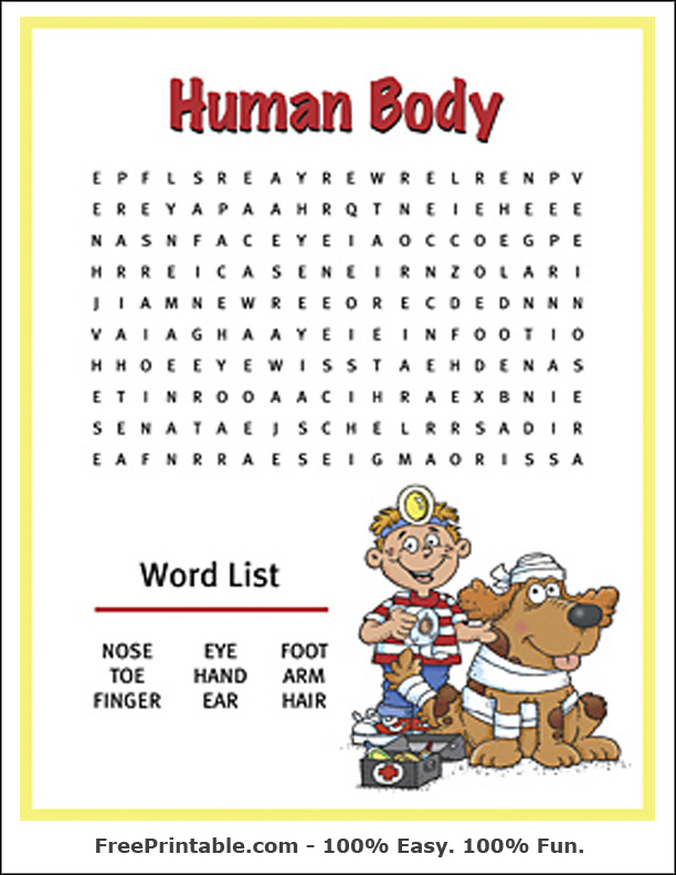 Word Search Free Printable | Search Results | Calendar 2015