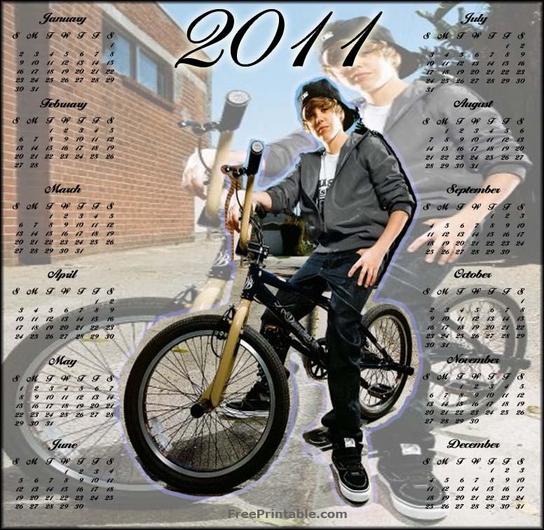 justin bieber 2011 calendar march. Print - Justin Bieber 2011