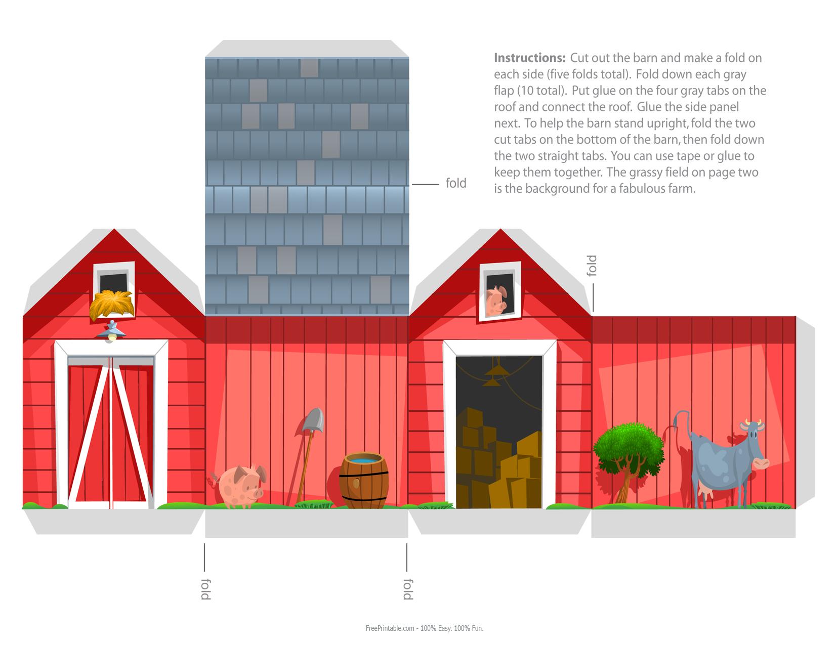 1650 x 1275 jpeg 619kB, Print - Red Barn Paper Craft