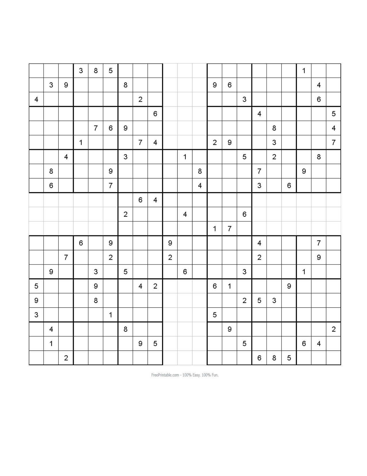 Samurai Sudoku Images | Crazy Gallery
