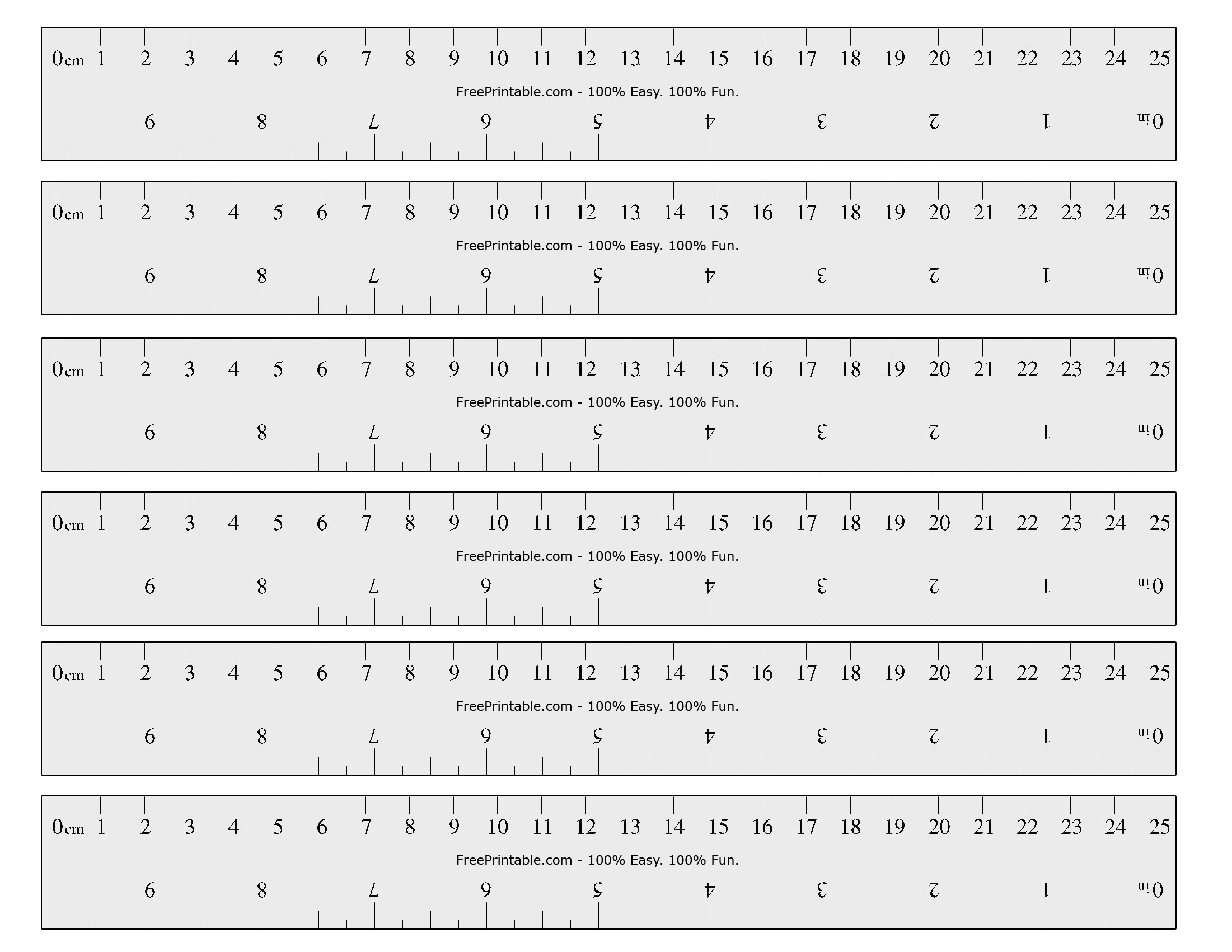 Obsessed image regarding metric ruler printable