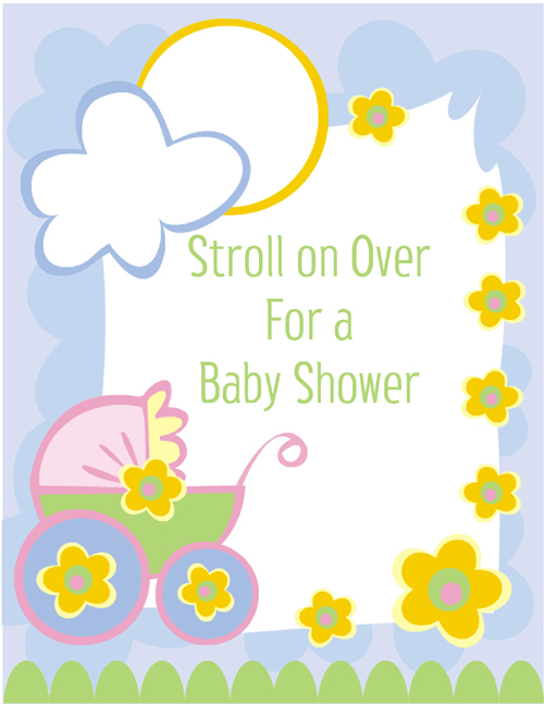 pin baby shower invitation clip art free on pinterest