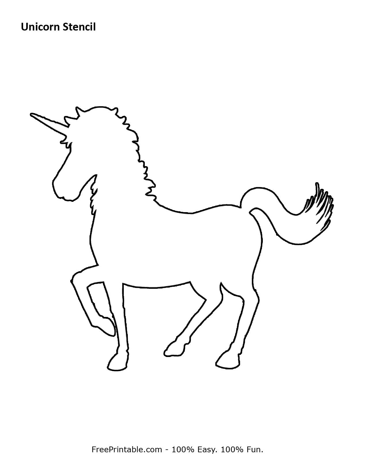 unicorn stencil cut the wire 10 on cut the wire