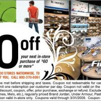Printable Finish Line $10 Off on $60 Purchase - Printable Discount Coupons - Free Printable Coupons