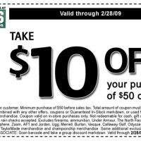 Dick's Sporting Goods $10 Off