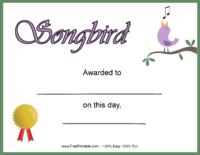 Songbird Award