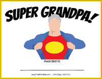 Super Grandpa Award