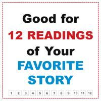 Printable 12 Readings Of Your Favorite Story - Printable Misc Coupons - Free Printable Coupons