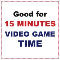 Printable 15 Minutes Video Game Time - Printable Misc Coupons - Free Printable Coupons
