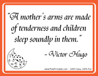 Hugo Mothers Quotation