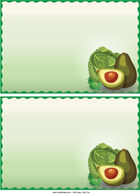 Avocados Recipe Cards