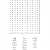 Printable 1st Corinthians - Printable Word Search - Free Printable Games