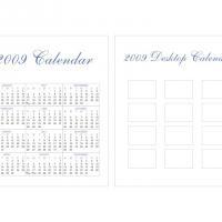 2009 CD Case Calendar