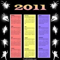 2011 Fairy Calendar
