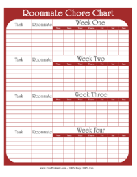 chore list for roommates 28 images chore charts organizational