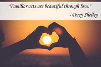 Percy Shelley Love Quotation