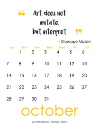 October 2018 Quote