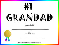 Number One Grandad