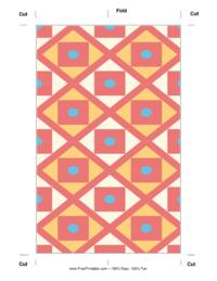 Aztec Bookmark