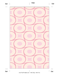 Pink Circle Bookmark