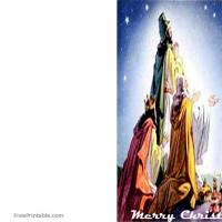 Printable 3 Kings - Printable Christmas Cards - Free Printable Cards