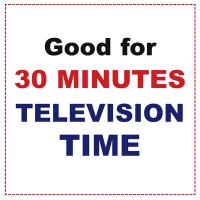 Printable 30 Minutes Television Time - Printable Misc Coupons - Free Printable Coupons