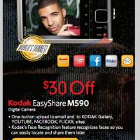 $30 Off Kodak EasyShare M590 at Best Buy