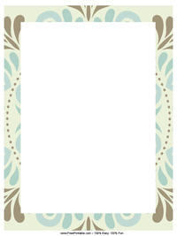 Winter Letterhead