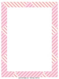 Overlapping Stripes Letterhead