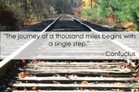 Confucius Journey Quotation