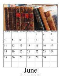 June 2017 Photo Calendar