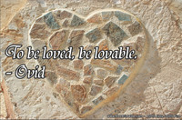 Be Lovable Ovid Quotations