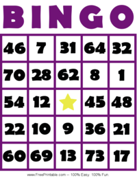 It's just a photo of Impeccable Free Printable Bingo Cards 1 75