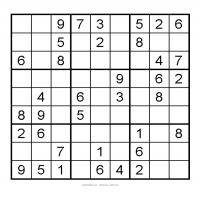 Printable 3X3 Very Easy Sudoku 1 - Printable Sudoku - Free Printable Games