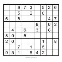 3X3 Very Easy Sudoku 1