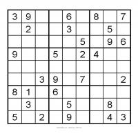Printable 3X3 Very Easy Sudoku 10 - Printable Sudoku - Free Printable Games