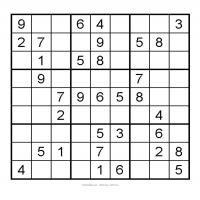 Printable 3X3 Very Easy Sudoku 2 - Printable Sudoku - Free Printable Games
