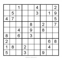 Printable 3X3 Very Easy Sudoku 3 - Printable Sudoku - Free Printable Games