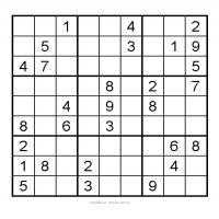 3X3 Very Easy Sudoku 3