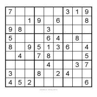 Printable 3X3 Very Easy Sudoku 5 - Printable Sudoku - Free Printable Games